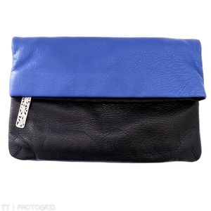 NWOT Brighton Bloc Party two-tone clutch
